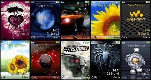 Temas Sony Ericcsson