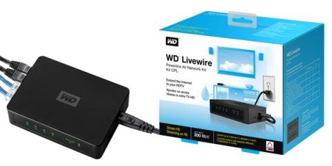 WD Livewire: Video HD y señal de Internet a través de la red eléctrica