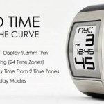 Phosphor World Time, un moderno reloj e-ink con 24 zonas horarias
