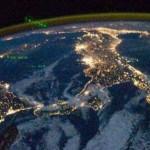 Espectacular Foto nocturna de Italia desde el Espacio