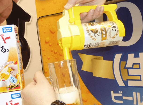 Takara Tomy Beer hour: Dispensador de cerveza porttil