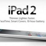 Steve Jobs presentó finalmente el iPad 2
