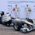 El nuevo monoplaza Mercedes GP Petronas F1 2011