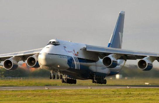 Antonov AN-124: El gigantesco avión de carga ruso