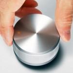 Botón de volumen que es un altavoz a la vez