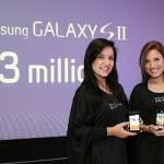 Samsung vende 3 millones de Samsung Galaxy S II en 55 días