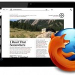 Mozilla trabaja en una versión renovada de Firefox para tablets