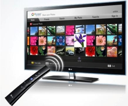 какие сетевые функции в телевизорах lg
