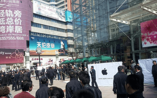China tendrá la Apple Store más grande del mundo