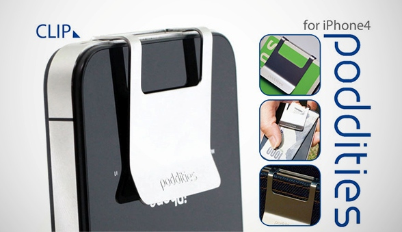 Poddities Money Clip for iPhone: La pinza que nos permitirá juntar iPhone y dinero