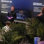 Avances tecnológicos:Dolby y Philips muestran un prototipo de HDTV 4K 3D sin gafas