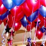 Los globos festivos estarían agotando la reserva mundial de helio