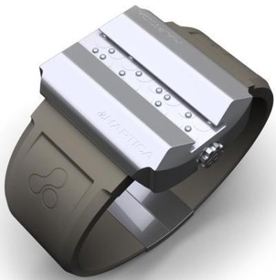 Reloj de pulsera Haptica Braile
