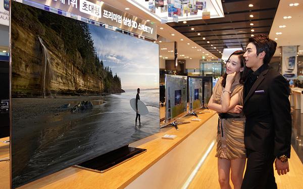 samsung es9000 el nuevo smart tv de 75 pulgadas. Black Bedroom Furniture Sets. Home Design Ideas