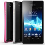 Nuevo Sony Xperia V, con tecnología LTE y resistente al agua