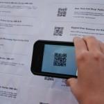 Aplicación que permite leer los códigos de barra mediante la cámara de un Smartphone