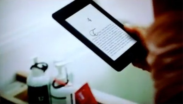 El nuevo Kindle de Amazon se deja ver en un anuncio de Televisin