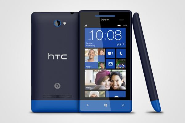 HTC 8X con Windows Phone