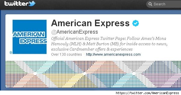 American Express y Twitter