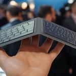 Un singular teclado plegable de Microsoft para iOS y Android