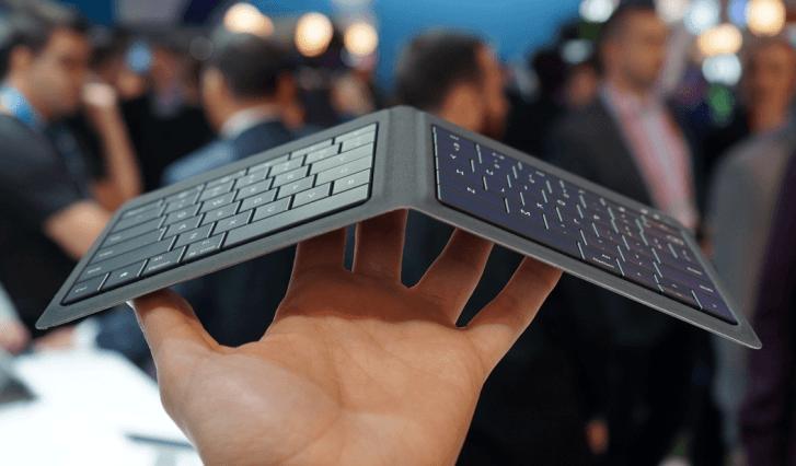 teclado plegable de Microsoft