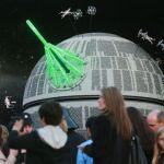 Construyen una réplica de la Estrella de la Muerte utilizando 500,000 piezas LEGO