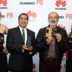 Huawei lanza en el Perú su Smartphone P8