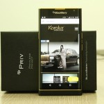 Disponible modelo Blackberry Priv bañado en oro de 24K por US$1,300 dólares