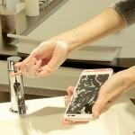 Kyocera diseña el primer teléfono que se puede lavar con agua y jabón