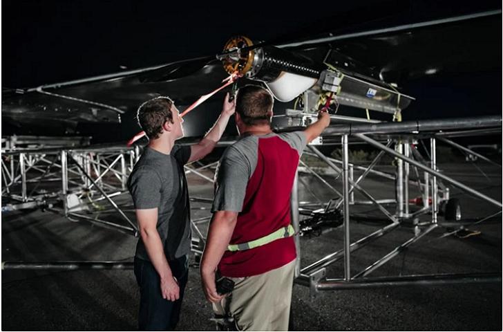 Aquila, el dron de Facebook realizó su primer vuelo