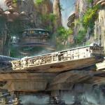 Disney muestra imágenes de su futuro parque temático de Star Wars