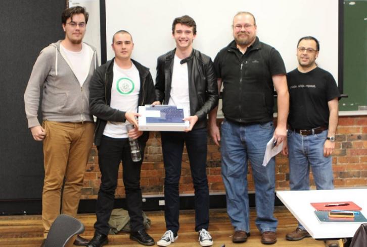 Jovenes estudiantes austrialianos
