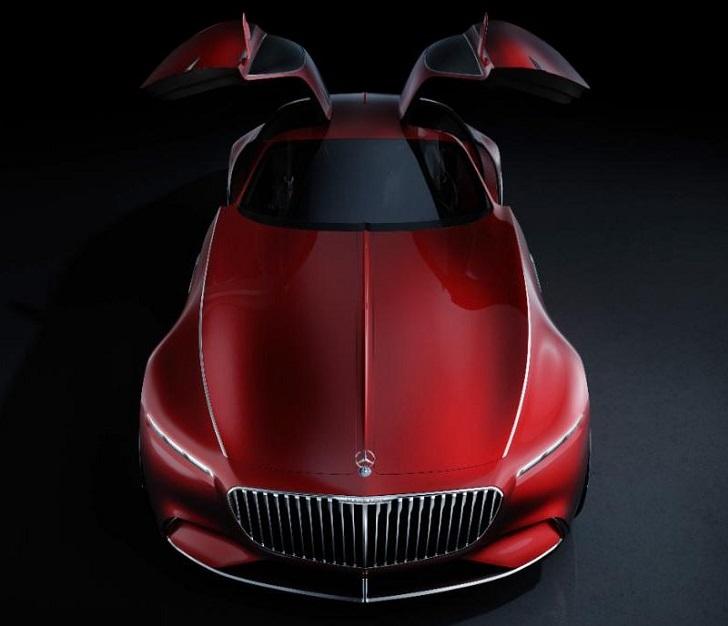 Mercedes-Maybach Vision 6, coche de lujo cuyo interior asemeja una nave espacial