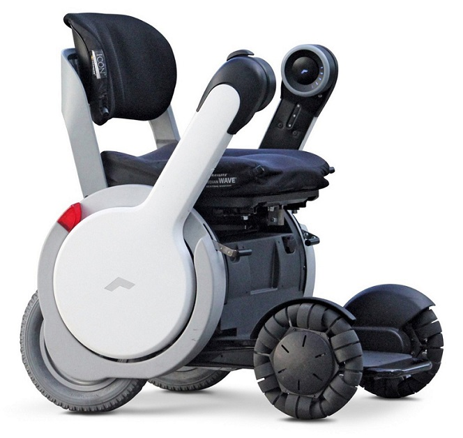 Japoneses diseñan silla de ruedas robótica súper resistente