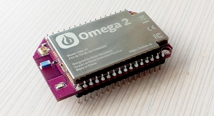 Omega2, una impresionante miniPC de US$5 dólares