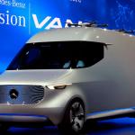 Furgoneta de Mercedes-Benz integra DRONES para opciones de entrega más rápidas