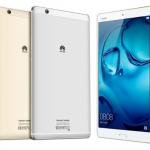 Huawei presenta la MediaPad M3 con audio premium y tecnología multimedia