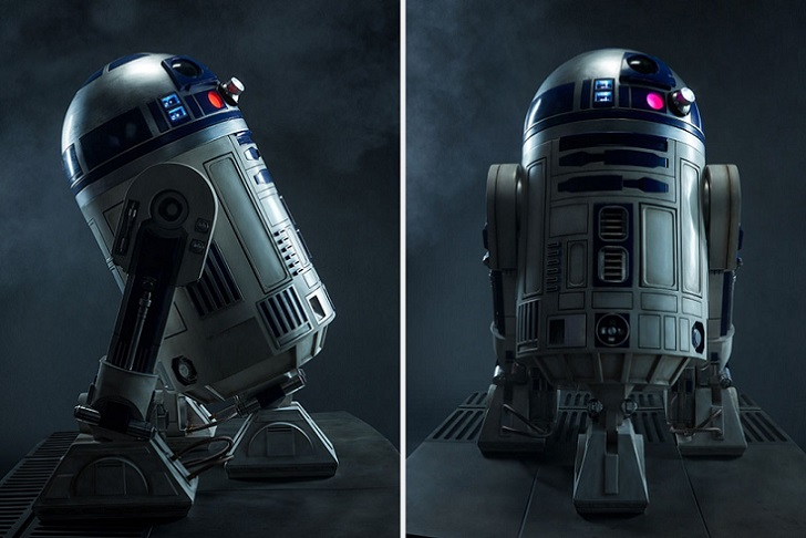 Por 7000 euros podrás ser propietario de un modelo R2-D2 de tamaño natural