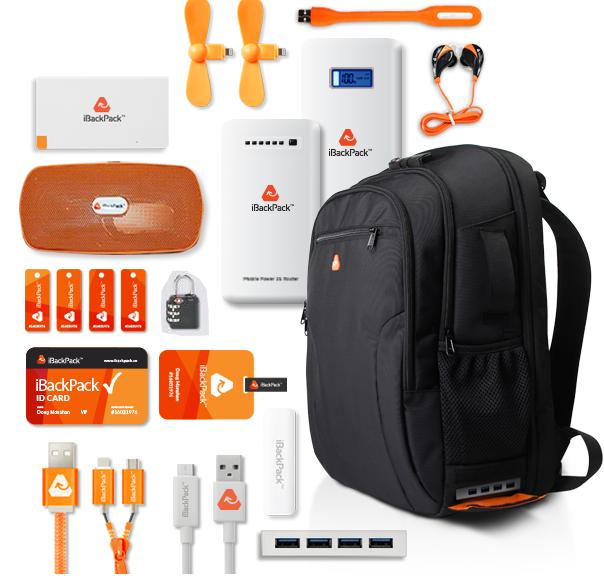 iBackPack, la verdadera mochila tecnológica