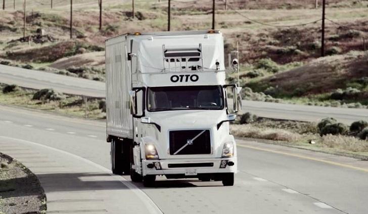 Otto, el camión autónomo de Uber realiza su primer gran recorrido