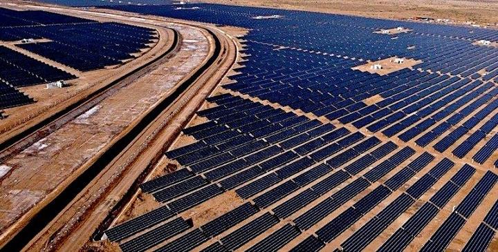 La mayor planta fotovoltaica del mundo se encuentra en la India