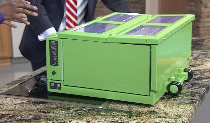 Anywhere Fridge, nevera  portátil que enfría y congela con energía solar