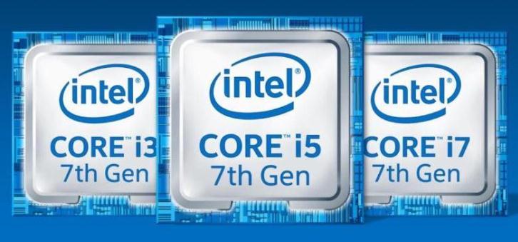 Nueva generación de procesadores Intel de 7ma Generación