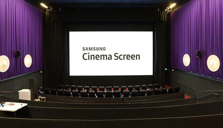 Samsung quiere introducir el uso de una pantalla 4K LED gigante en los cines