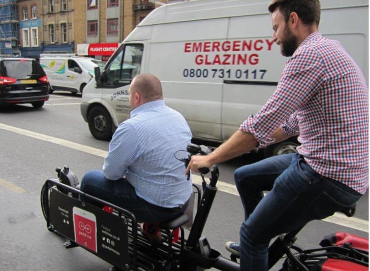 Pedal Me, el 'Uber' ciclista es todo un suceso en Londres