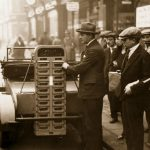 Historia de las primeras máquinas expendedoras