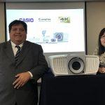 Proyectores 4K Ultra HD de Casio ya están en Perú