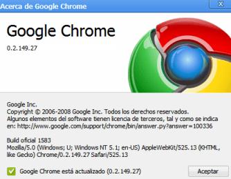 Extensiones para el Navegador Google Chrome