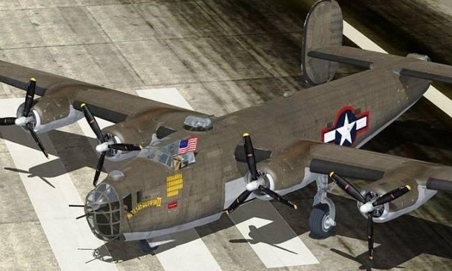 Aviones Clásicos 1: el Legendario B-24 Liberator, un Clásico Avión de Bello Diseño