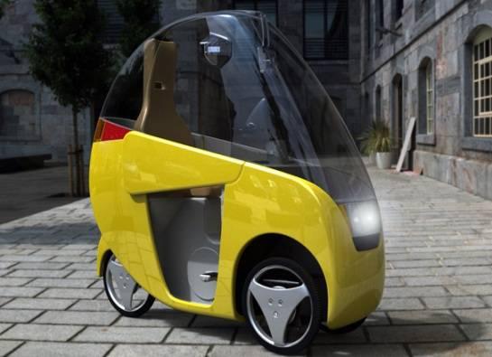 El Emcycle, un Vehículo Hibrido que podría Revolucionar el Transporte